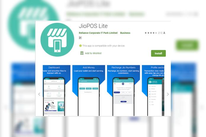 JioPOS Lite App