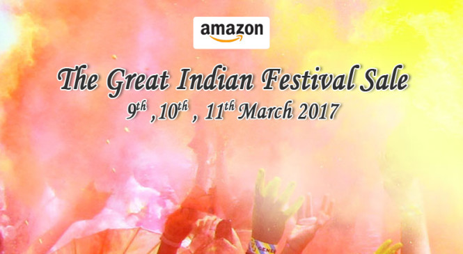 This Irresistible Amazon Great Indian Festival Sale is Sure to Fulfill all Your Holi Shopping Desires in an Unbelievable Budget!