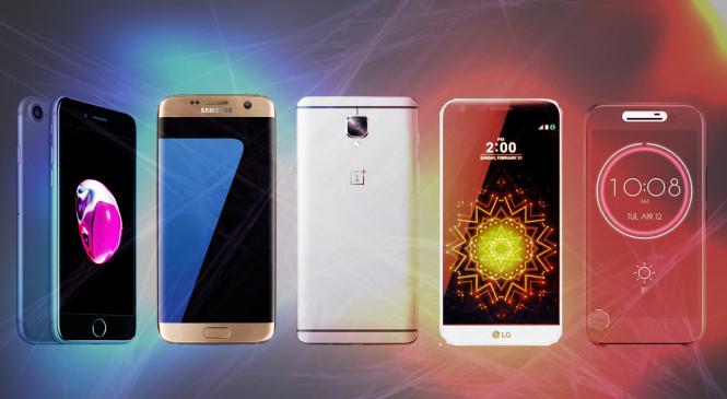 List of Top 5 Best Rated Smartphones