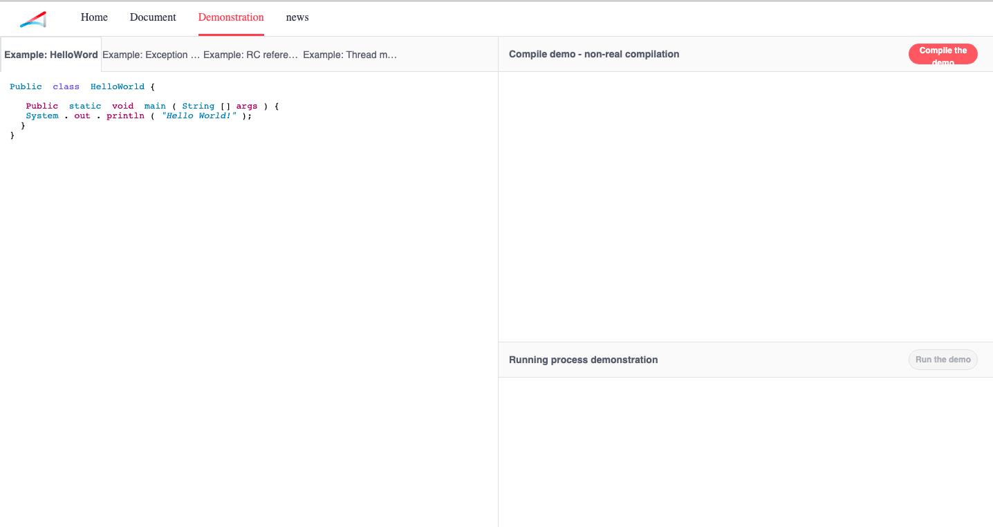 Ark Compiler Website