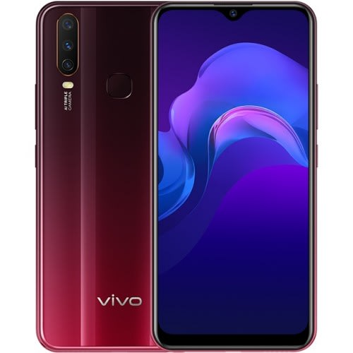Vivo Y12 with 5000 mAh battery, triple rear cameras launched in India for Rs.12,490