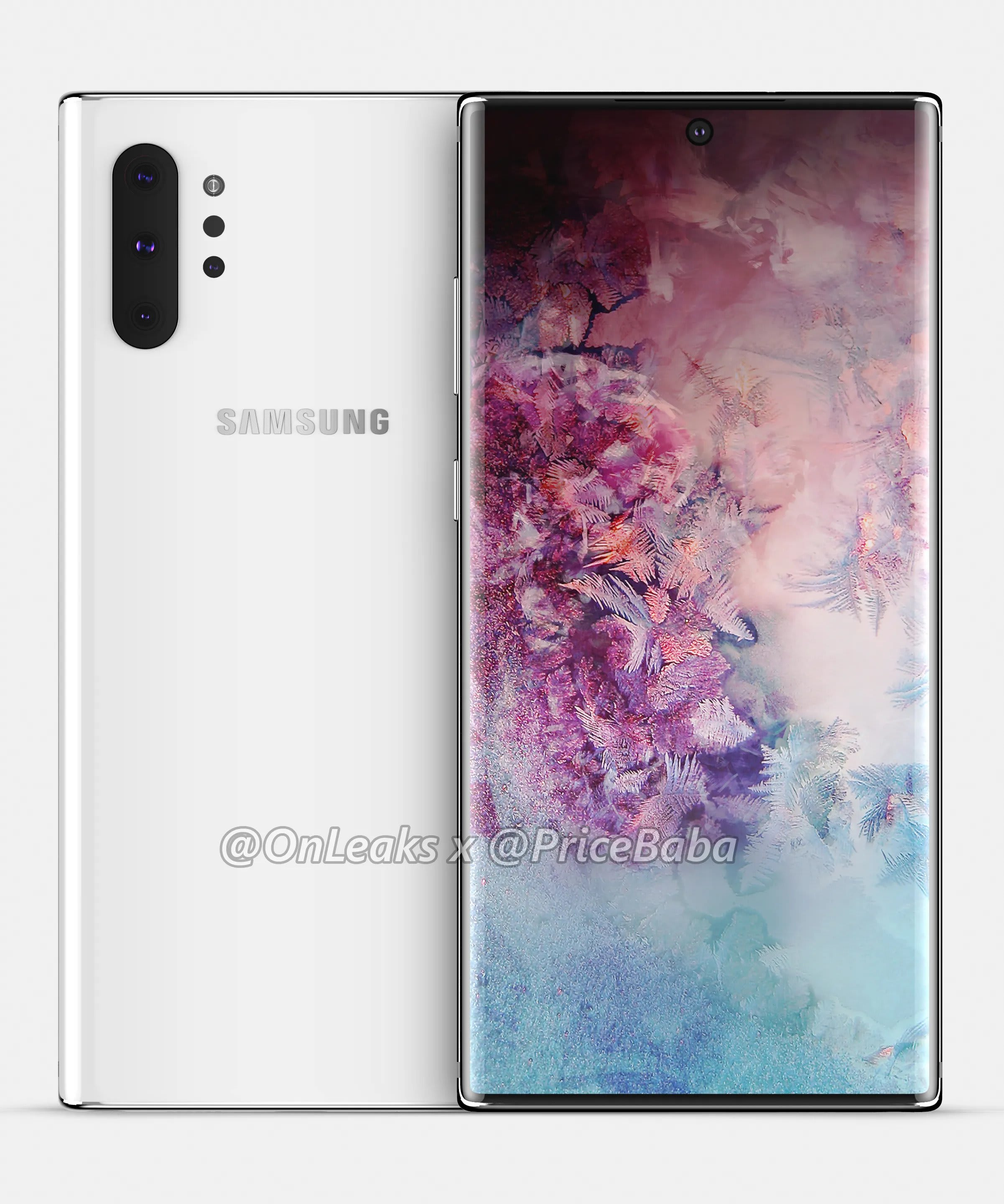 Samsung Galaxy Note 10 Pro Renders Leaked