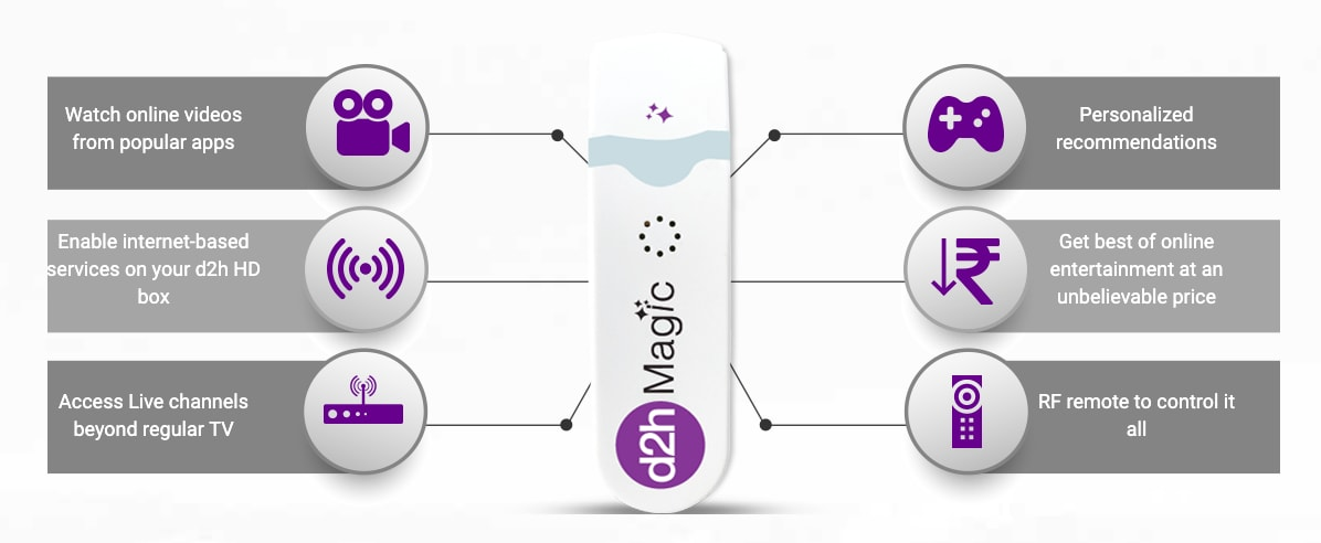 d2h smart stick details