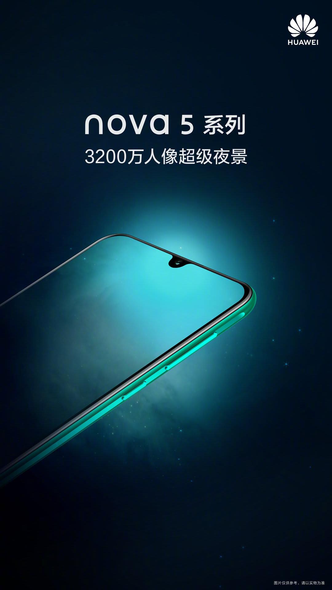 Huawei Nova 5 Poster