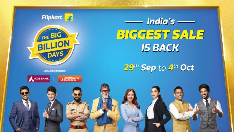 Flipkart Big Billion Days September 2019