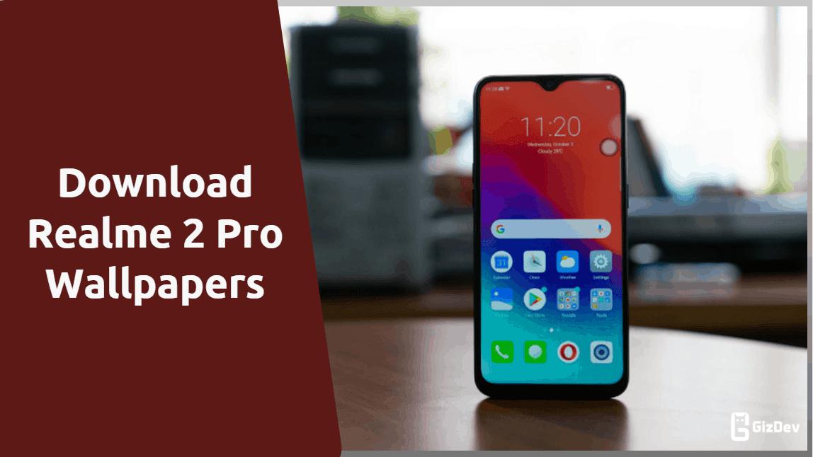 Realme 2 Pro Android Pie