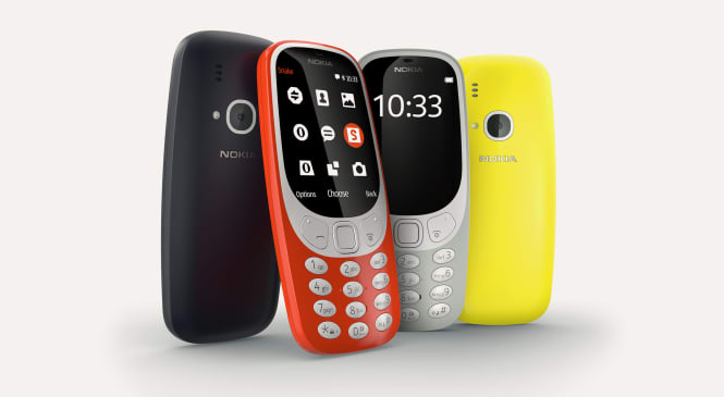 Nokia 3310 Mobile Phone Launched in India at Rs. 3310, will be available from Thursday