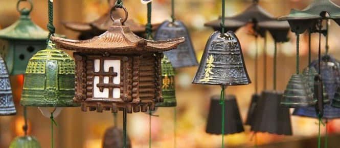 Soothe your mind with wind chimes