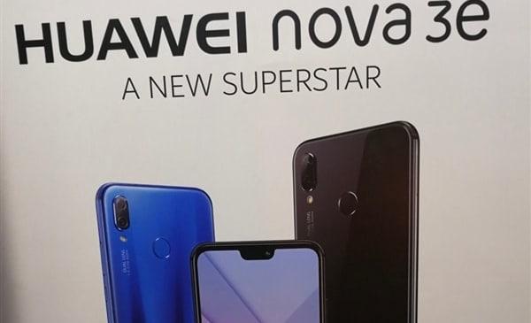 Huawei Confirms the Launch of its New Smartphone- Nova 3e