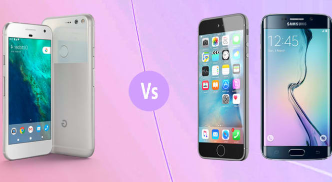 Mobile Phone Comparison: Google's New Pixel Phones Vs Latest iPhone And Android