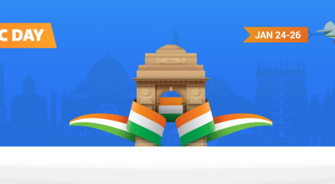 Flipkart Republic Day Sale 2017 is Up till 26th Jan, 2017