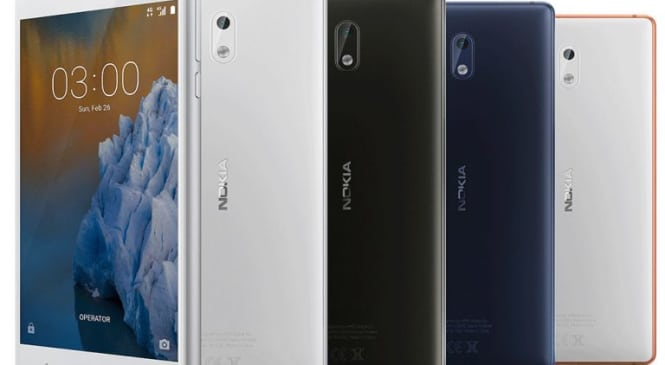 Nokia 3: Features and Specifications