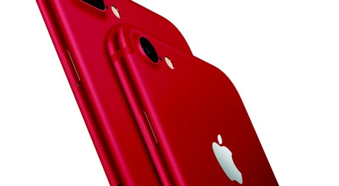 Apple Launches Red iPhone 7 Plus and iPhone 7 Colour Variants of the Smartphone