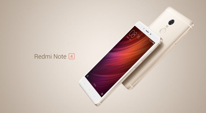 Redmi Note 4 Sale is all Set to Take Place in India Today on Flipkart