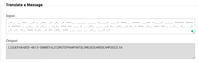 Zenfone X Morse Code