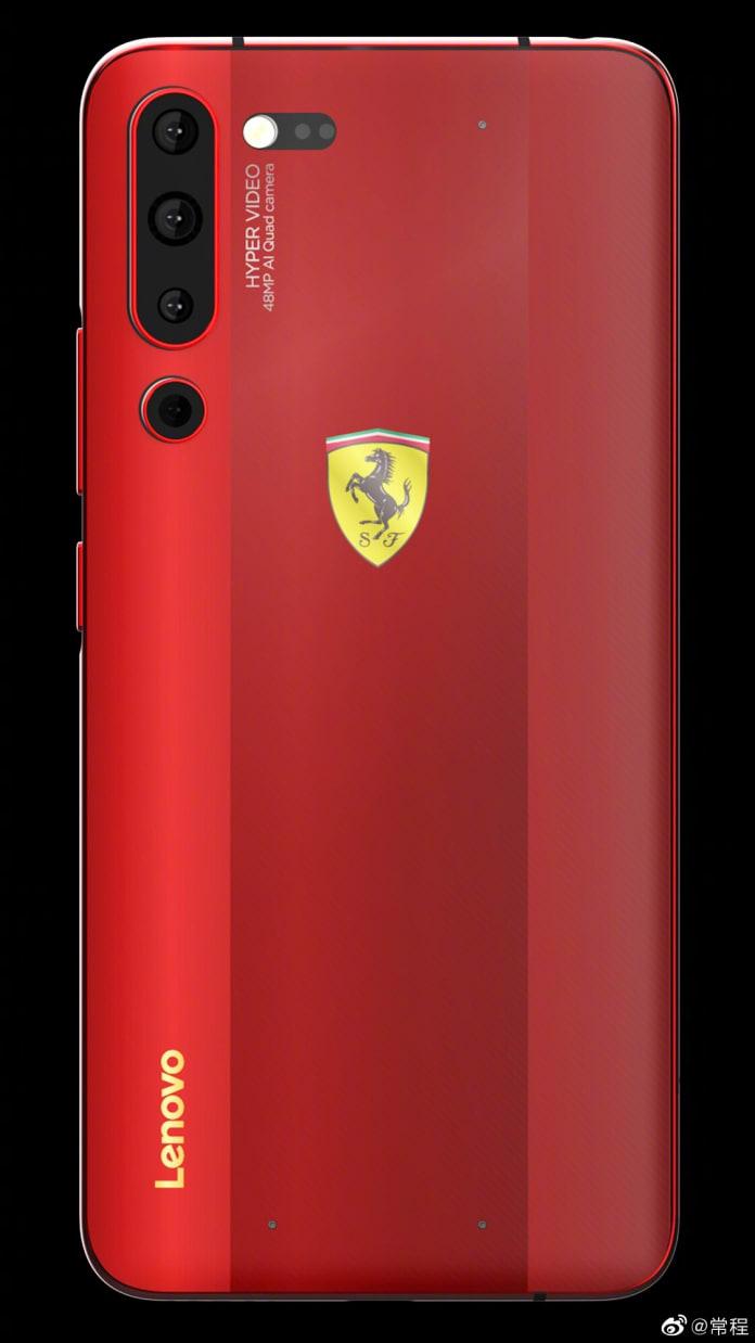 Lenovo Z6 Youth Editon Ferrari Custome Editon