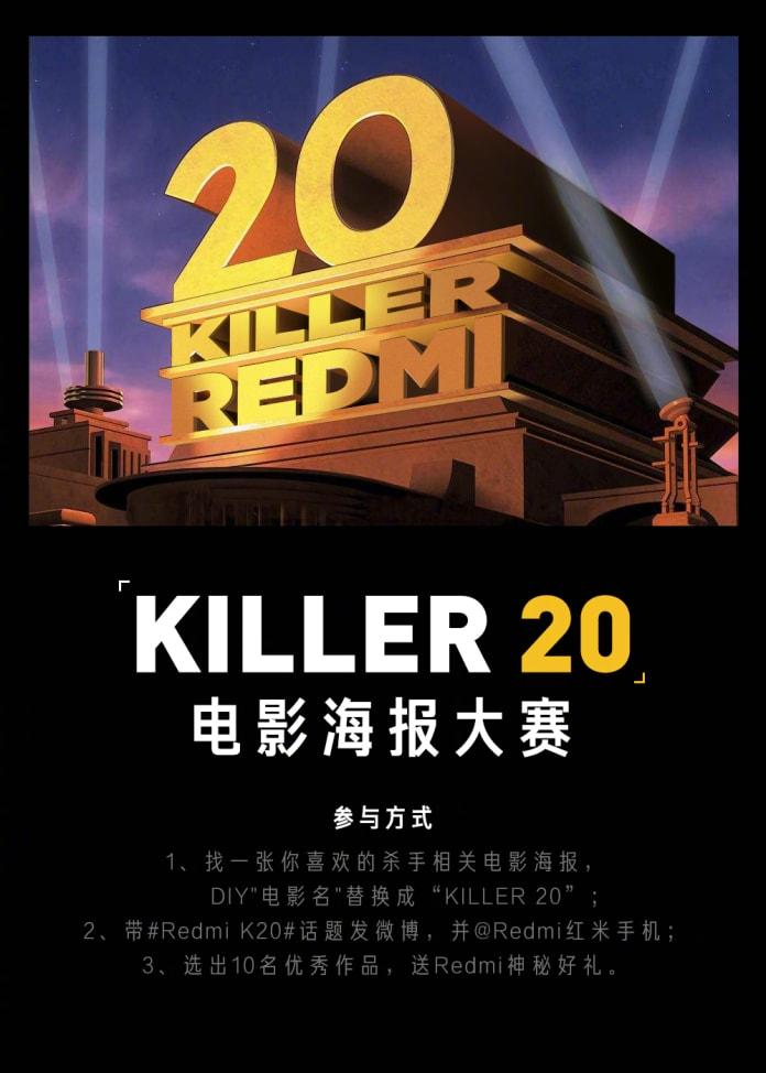 Redmi K20 Great Devil Movie Avatar