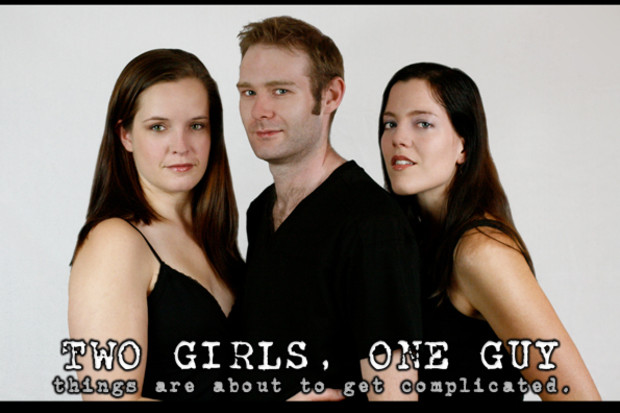 One guy two girls