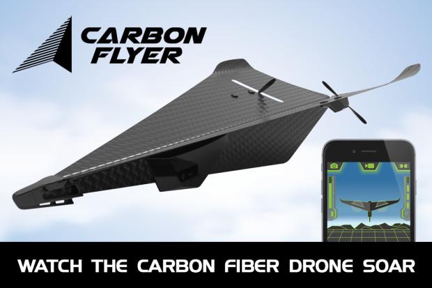 懐かしさ×テクノロジー! 子供心をくすぐる紙飛行機型ドローン「Carbon Flyer」 7番目の画像