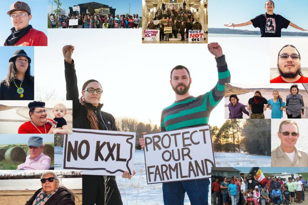 Support raised in this campaign will help to fight the Dakota Access and KXL pip…