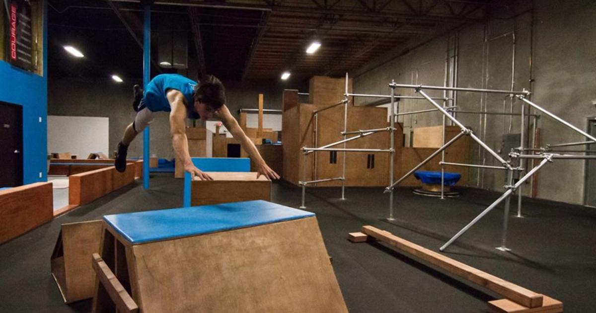 Parkour Gym Foam Vault Block Freedom In Motion
