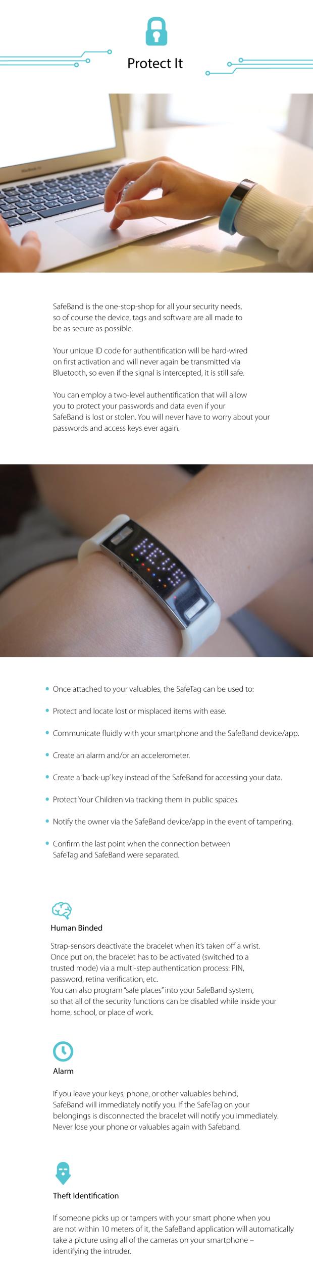 Safeband – безопасность всегда с собой