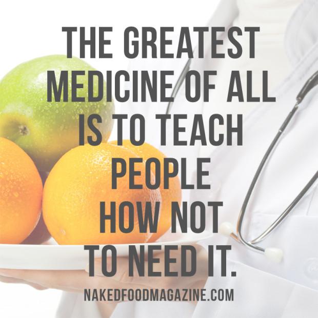 naked food is medicine indiegogo