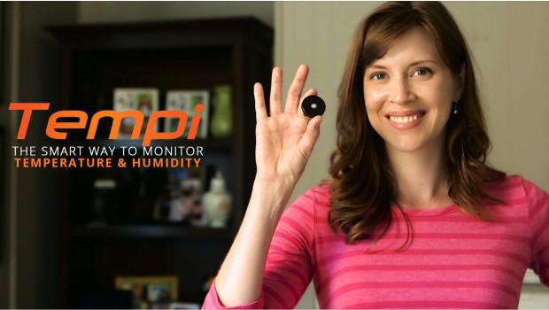 Tempi Smart Temperature And Humidity Monitoring Indiegogo