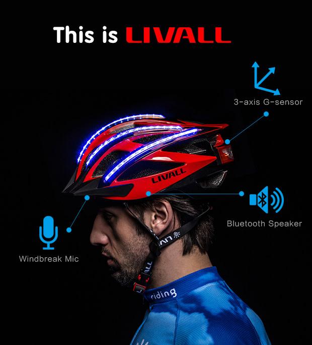Livall Helmet Bling