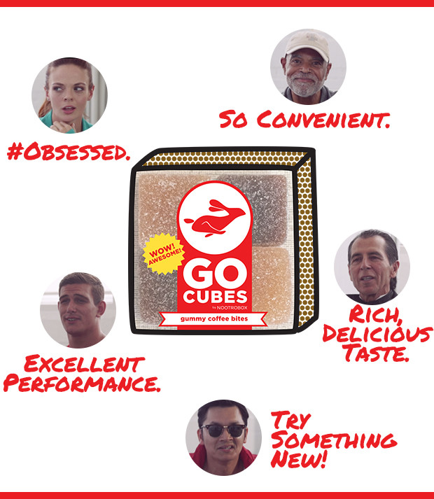 Go Cubes Chewable Coffee An Entire Cup Of Delicious Zippy Cold