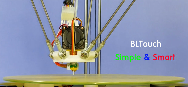 Introducing     BLTouch - Autoleveling Sensor for 3D Printers