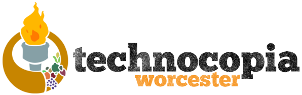 Image result for technocopia worcester logo