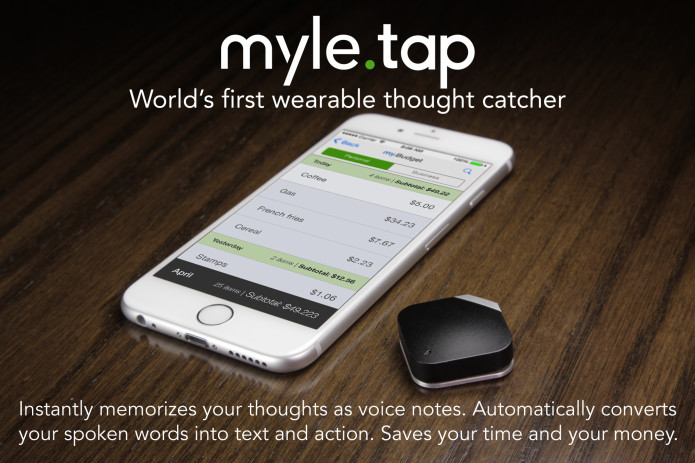 MYLE TAP: Wearable Thought Catcher | Indiegogo