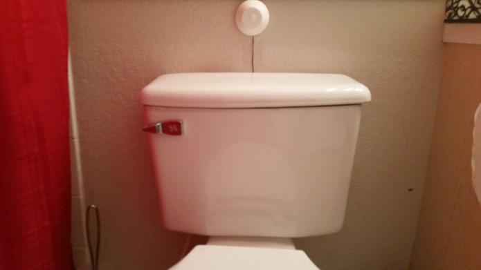 Le Flusher : Next Gen Automatic Toilet Flusher | Indiegogo
