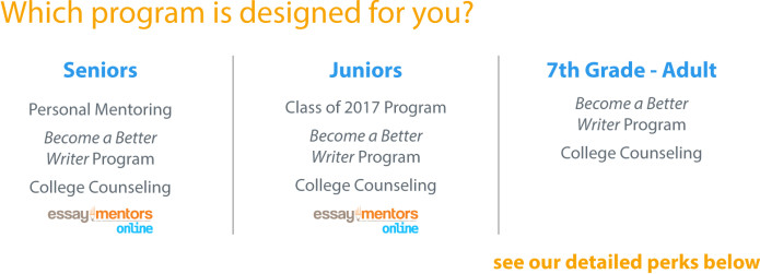 essay mentors gets good kids into great colleges indiegogo an error occurred