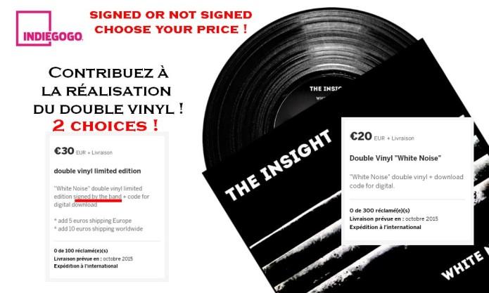 THE INSIGHT new album WHITE NOISE | Indiegogo