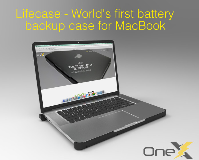 Lifecase - World's First MacBook Battery Case | Indiegogo