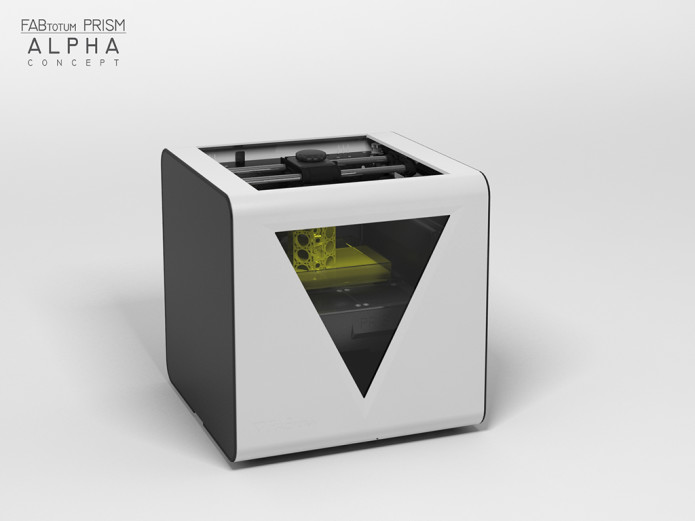Fabtotum personal fabricator indiegogo personal fabrication device that can operate a wide range of computer controlled cnc manufacturing and 3d scanning processes print cut mill scan fandeluxe Choice Image
