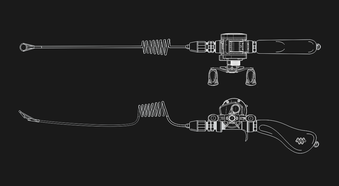 compact fishing systems   indiegogo, Reel Combo