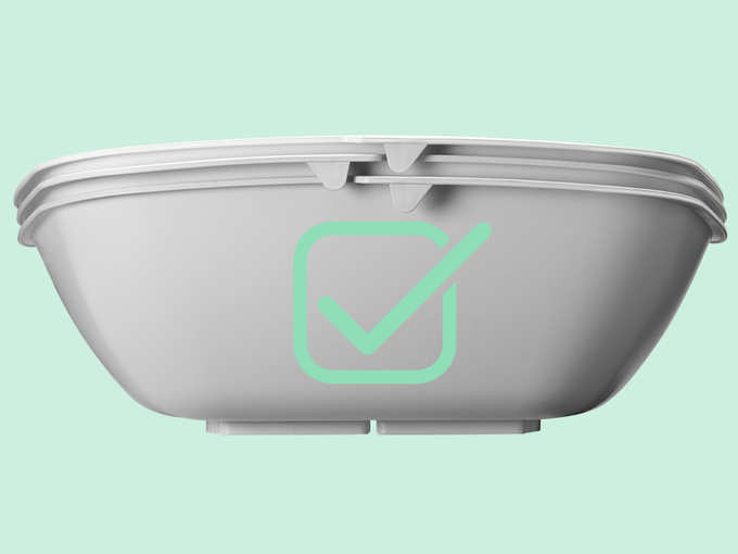 cleaning your litter box takes seconds no more wasting litter or buying complicated and expensive contraptions with parts that can break that you still cat litter box