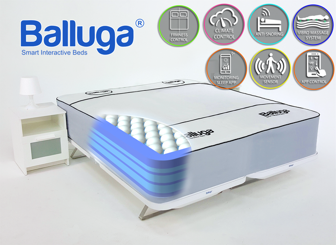 A smart bed with an array of smart features