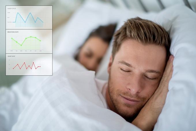 Monitor your sleep cycles via the Balluga app