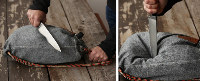 Flak Sack: The Theft-Resistant Drawstring Backpack | Indiegogo