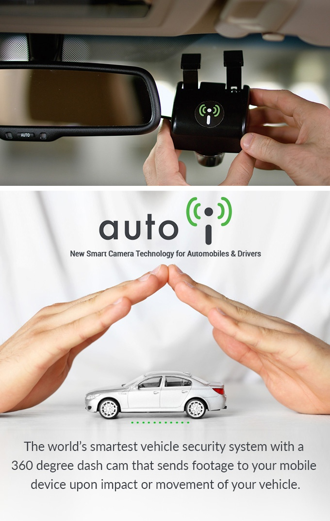 The Auto i - World\'s Smartest Car Camera Security | Indiegogo