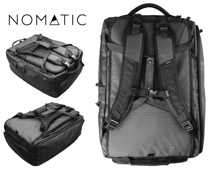 Nomatic Travel Bag Indiegogo
