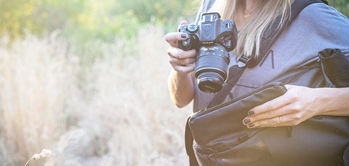 Side access means your camera (or anything else you are carrying) is quick to grab when you need it.
