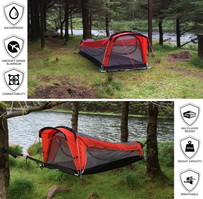 four outdoor essentials in one tent   hammock   indiegogo  rh   indiegogo