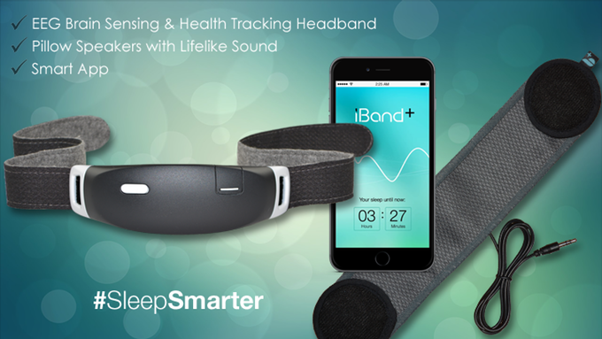 iBand: EEG headband that helps you Sleep & Dream! | Indiegogo