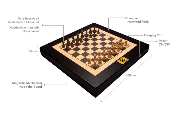 Square Off Worlds Smartest Chess Board Indiegogo