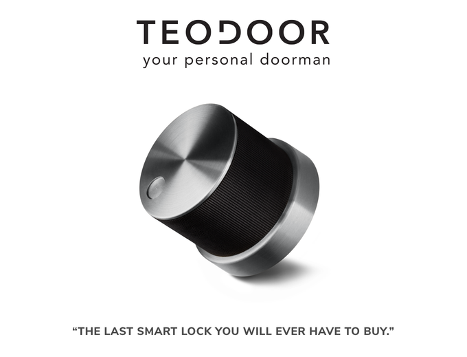 unusual gifts for men - electronic door lock system